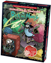Dungeons and Dragons VS Rick and Morty