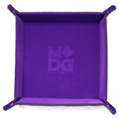 Folding Dice Tray (Purple)