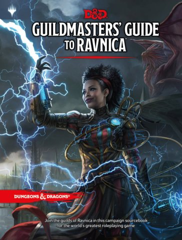 Dungeons and Dragons RPG: Guildmasters Guide to Ravnica
