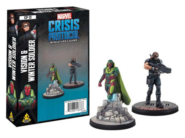 Vision & Winter Soldier Character Pack