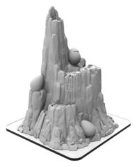 Monsterpocalypse Building - Mount Terra