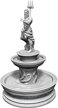 WizKids Deep Cuts Unpainted Miniatures: W10 Fountain