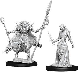 Pathfinder Deep Cuts Unpainted Miniatures: W7 Ghouls