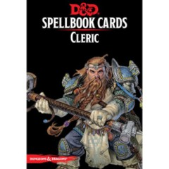Dungeons & Dragons RPG: Cleric Spell Deck