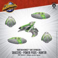 Martian Saucers, Pods, Hunter