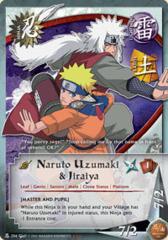 Naruto Uzumaki and Jiraiya - N-204 - Super Rare - Unlimited Edition - Foil