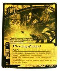 Piercing Chidori - J-685 - Super Rare - 1st Edition - Black and Gold Foil
