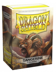 Dragon Shield Sleeves: Classic Tangerine - Standard - (Box of 100)