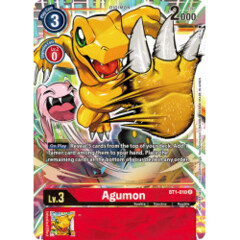 Agumon - BT1-010 - R - Alternative Art