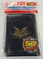 Yu-Gi-Oh OCG Custom Sleeves 50 count - Arc-V Black