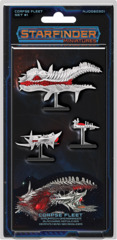 Starfinder Miniatures Corpse Fleet Set #1