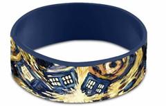 Doctor Who Van Gogh Tardis Wristband