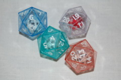 Double Dice 20-Sided