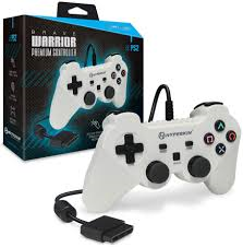 Acc: PS2 Controller Wired White Similar Functions Of DualShock 2