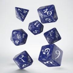 Classic RPG Lavender & White Dice Set