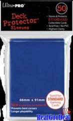Ultra Pro Standard Sleeves Case - Blue (50 ct.) (120 Packs)