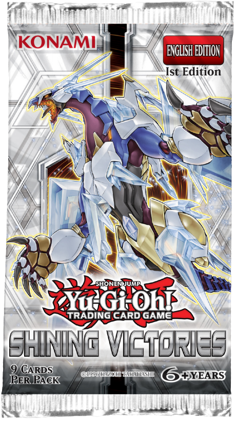 Yu-Gi-Oh: Shining Victories Booster Pack 1st Edition