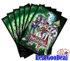 Yu-Gi-Oh! Zexal Card Sleeves Case (120 Packs Of 50 Sleeves)