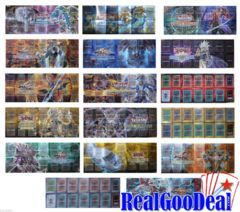 Yu-gi-oh Paper Playmat - Lot Of 3 random Platmats