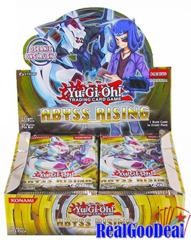 YuGiOh Abyss Rising Booster 12 Box Case