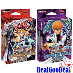 YuGiOh Starter Deck Yugi & Kaiba Reloaded Set of 2 Sealed
