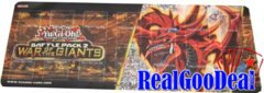 Yugioh Battle Pack 2 Sealed Play Kit PLAYMAT - Slifer The Sky Dragon