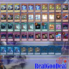 YuGiOh Link Strike Budget Deck Tournament Ready + Sleeves