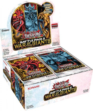 YuGiOh Battle Pack 2 Booster Box Case (12 COUNT)