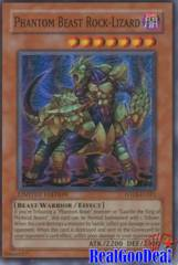 Phantom Beast Rock-Lizard - FOTB-ENSE1 - Super Rare - Promo Edition