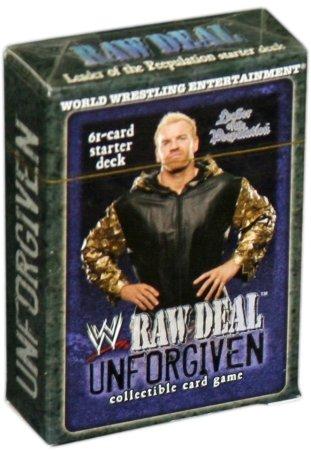 WWE Raw Deal Unforgiven Starter Deck Leader of the Peepulation