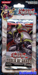 YuGiOh Order Of Chaos Blister Pack