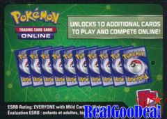 Pokémon TCG Online - XY SUN & MOON Booster Pack Code