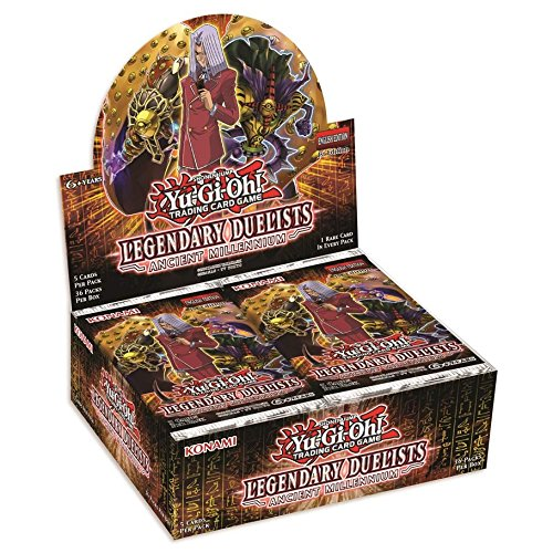 Yu-Gi-Oh! Legendary Duelists - Ancient Millennium Booster Display Box