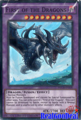 First of the Dragons - NECH-ENS08 - Super Rare - Limited Edition