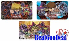 YuGiOh Duelist Kingdom Chibi Playmat Set