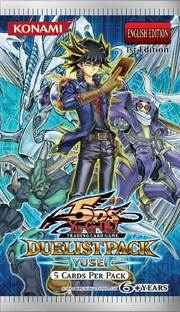 Duelist Pack 8: Yusei Fudo Booster Pack (X12)