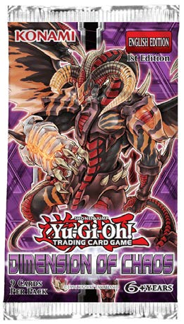 YuGiOh Dimension of Chaos Booser Box Case
