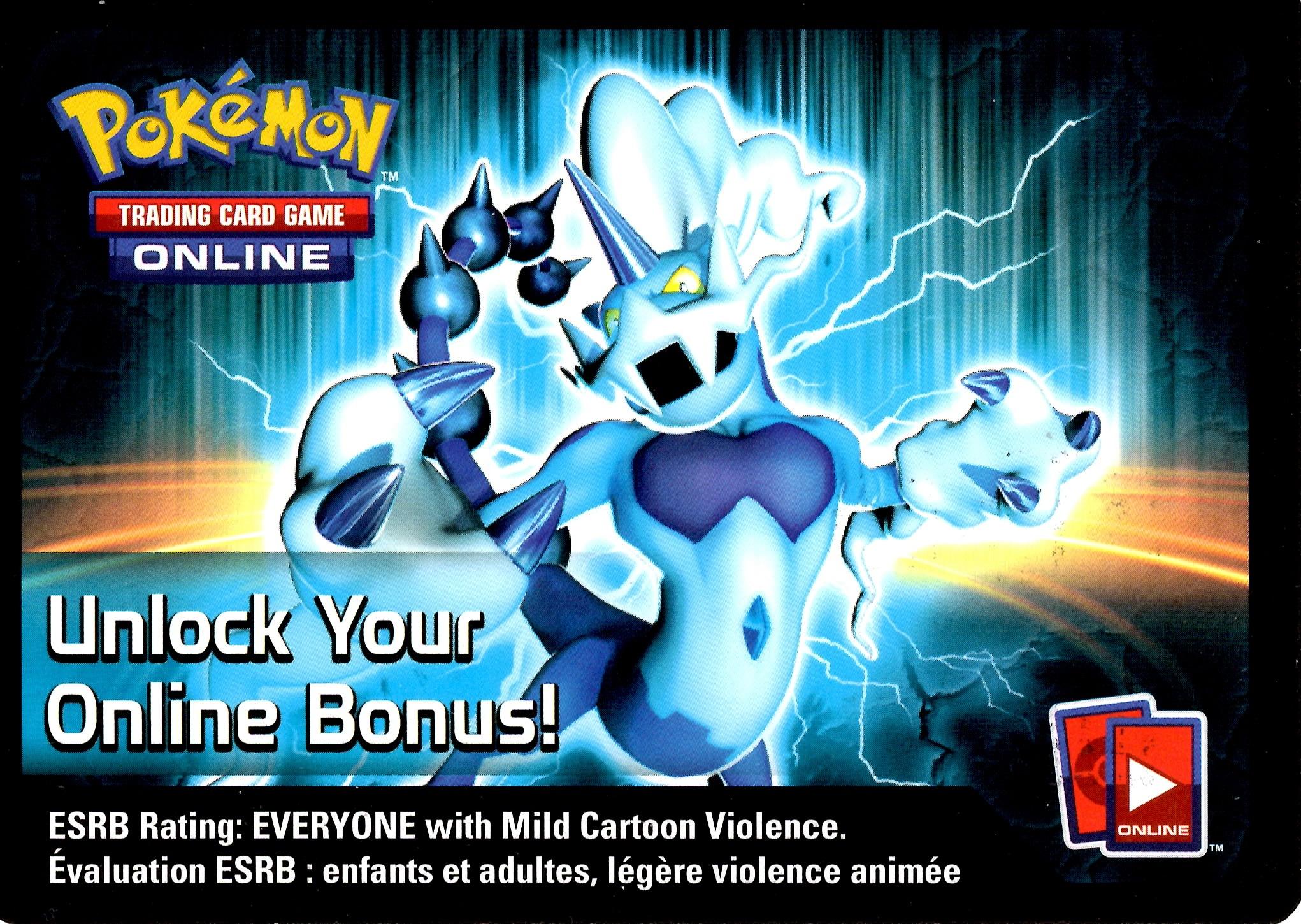 Pokemon Black & White - Fall 2013 Legendary Tin Thundurus-EX Online Code