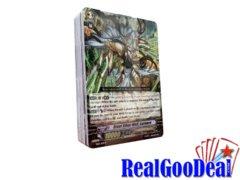 Cardfight! Vanguard Slash of Silver Wolf Dragon English Loose Deck [NO BOX]