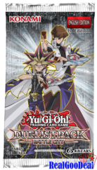 YuGiOh Duelist Pack: Battle City Booster box case of 12