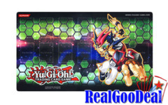 2012 Yugioh Yuma Tsukumo Galaxy Green Promotional Playmat