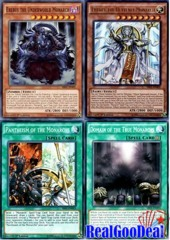 YuGiOh Monarch Budget Deck A Tournament Ready + Sleeves