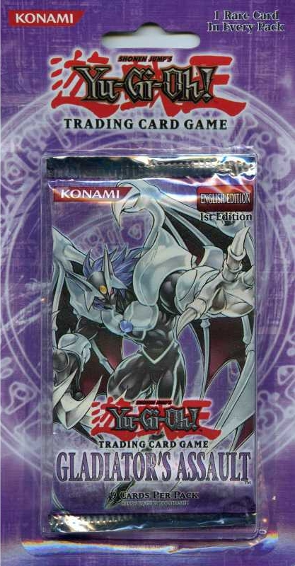 Yugioh Gladiator's Assault Blister Pack