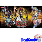 YuGiOh Gold Series 4 Pyramids Playmat Dark Magician and Dark Magician Girl