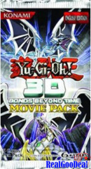 YuGiOh 3D Bonds Beyond Time Movie Pack x3