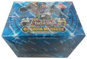 YuGiOh Geargia Rampage Box Case (8 COUNT PER BOX)