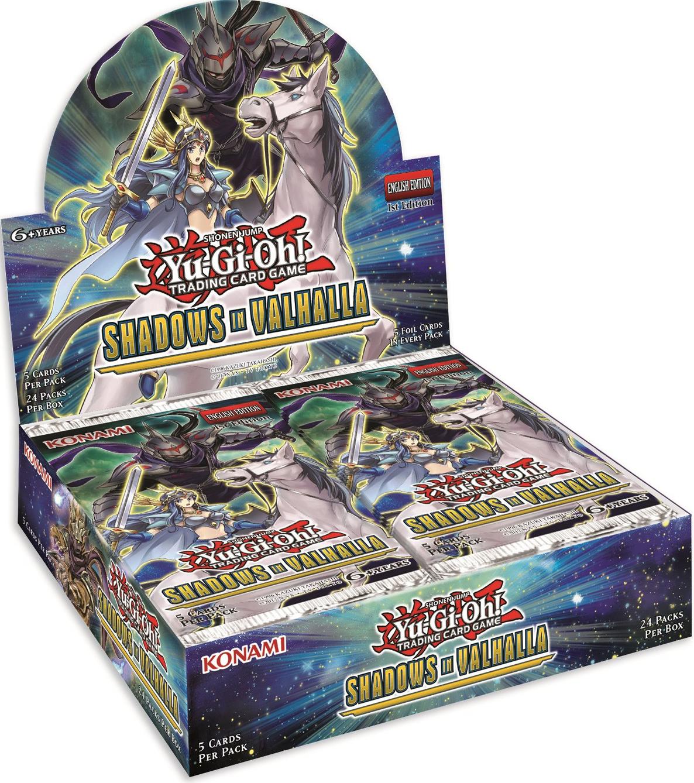 YuGiOh Shadows Over Valhalla Booster Box