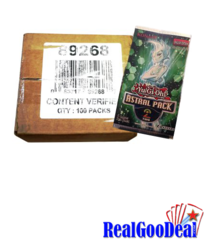 YuGiOh Astral Pack #2 Box Case (100 PACKS)