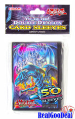 YuGiOh Double Dragon Sleeves Case (120 Packs Of 50 Sleeves)