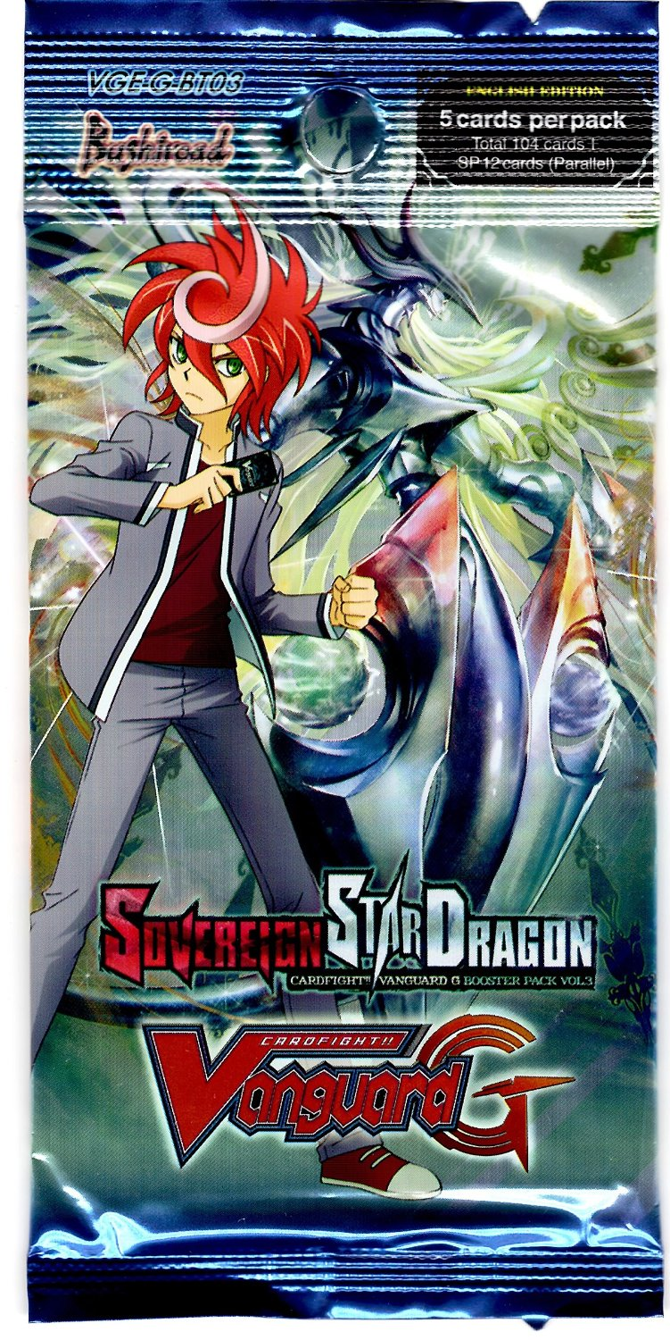 Cardfight!! Vanaguard Sovereign Star Dragon Booster Pack